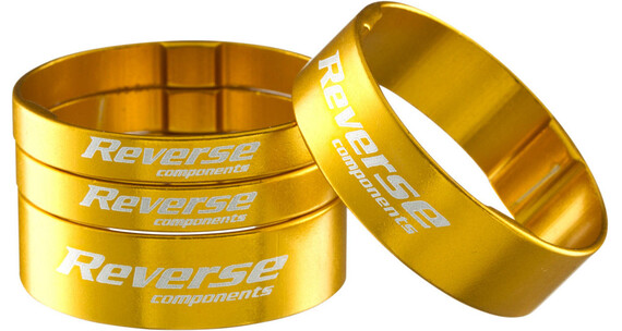 "Reverse Spacer Set Alloy Ultra- Light - 1,1/8"" Or"